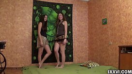 Creampie for girlfriend my step-sister. Jay Dee, Helena Him and Vira Gold