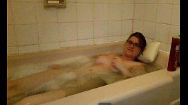 Sexy girl take bath