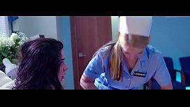 Nurse fucks patient in hospital room (amazing classy Lesbian scene) / Nurse Casey Calvert - Patient Whitney Wright  - GirlCore