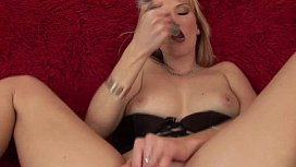 horny Milf alone at home