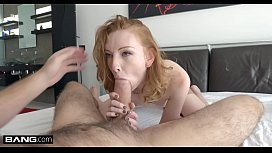 Rammed - Redhead Katy Kiss gets her tight pussy pounded