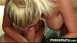 Lucky Client gets a Full Service Massage 3