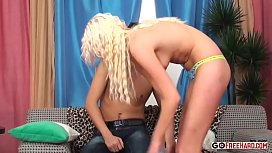 Bleach Blonde Kendall Gets Ass Plowed And Creampied