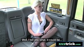 Platinum UK Blonde Rimming and Fucking In The Backseat - Barbie Sins