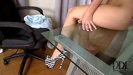 Jess West foot fetish