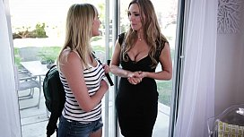 Mom Daughter and the photographer Tanya Tate Samantha Hayes Brett Rossi