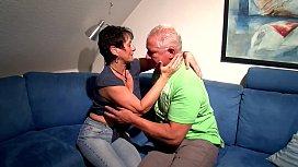 Altes Ehepaar lässt sich beim ficken filmen