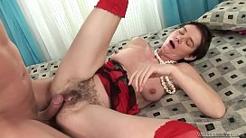 Lily R Hairy Pussy Fucked