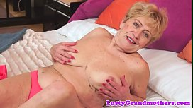 Hairy grandma pounded by huge cock