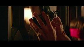 DAKOTA JOHNSON breasts underwear scene in Fifty Shades Freed