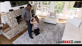 Small Teen Alina West Pays Dad'_s Debt