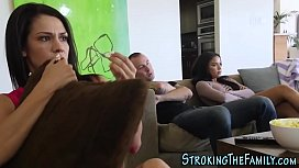 Latina stepsis gets jizzy