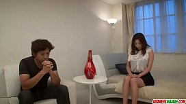 Mirei Yokoyama romantic date ends with a good fuck - More at Japanesemamas com