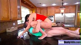 Sex Tape With Sluty Big Juggs Wife (Reagan Foxx) mov-17
