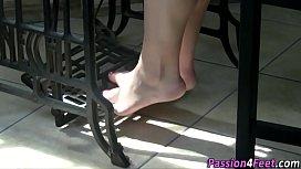 Italian feet push pedal