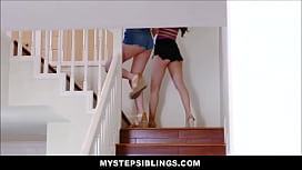 Two Lesbian Teen Step Sisters Judy Jolie And Miranda Miller Love Step Brothers Cock