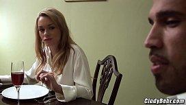 Cindy Behr black stud sex with Paige Ashley busty milfs