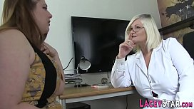 Mature doctor tribs and toys lesbian