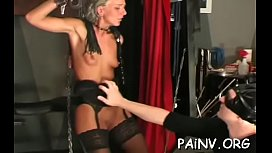 This bonded slut tears up in extraordinary humiliation scene