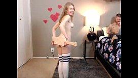Cute girl on webcam - more on hdcamsx.com