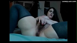 Young BBW Babe With Hairy Pussy On Cam 3.wmv