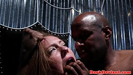 sub throated by her master