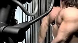 muscle hermaphrodite jerks her little cock xxx video