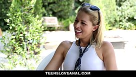 TeensLoveAnal - Blondie Ass-Fucked By Her Step Bro