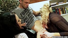 Louise Jenson threesome with Jamie Barry and wife