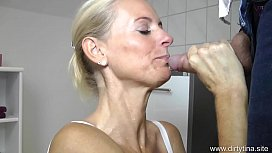 Perverted creampie piss fuck