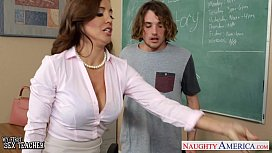 Nau sex teacher Francesca Le fucking