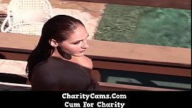 Charity Cams - PAWG Babe Rides Huge BBC