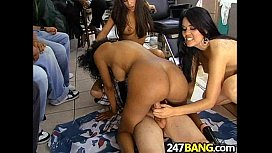 Barbershop Orgy with Olivia O'Lovely, Jenaveve Jolie & Lacey Duvalle.08