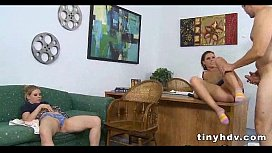 I want this teen pussy Tati And Taylor 1 94