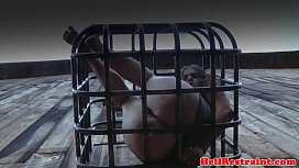 Caged sub pu ucked once let free