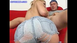 Blonde Deepthroat Blowjob xxx image