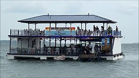 Blue Rock Floating Bar Olongapo Philippines