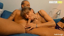 AMATEUR EURO - Mature Couple Invites Family Friend To Have Sex With Them In Threeway