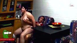 She teaches her boyfriend the ass and fucks her. RAF261