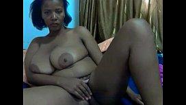 African queen busty natural webcam