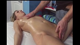 Gymnast goes in for a massage and gets fucked Hard! Pt2