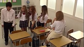 School Class Dream, Sexy uniform KOGAL! ~ Japanese Gyaru ~ Hot School Tanned Kogyaru Orgy! [GAR-342]