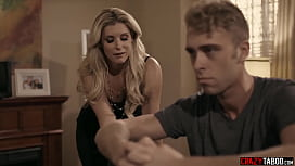 Cheating wife India Summer catfished and exploited by stepson