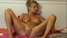 Hot blonde MILF webcam show more SWEETGIRLCAMCOM