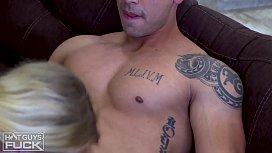 Sexy Masculine Built Latino FUCKS Perfect Tits White Teen