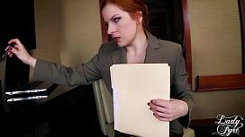 ACCOUNTANT GONE WILD -FULL VERSION LADY FYRE MILF REDHEAD POV