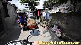 フィリピンの売春婦 Picking up 18 yo pinay with perfectly slim body / CheapAsianTeens.com
