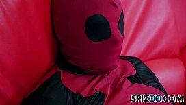 August Ames Meets Deadpool