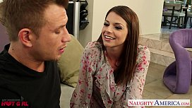 Busty Brooklyn Chase gets nailed and facialized