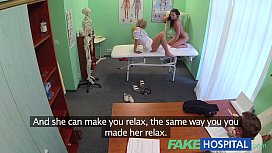 FakeHospital Doctors cock and nurses tongue cure frustrated horny patients xxx video
